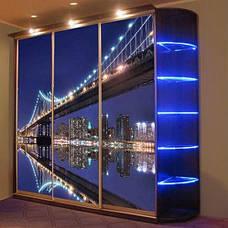 Фасады (для шкафов, гардеробных) фотопечать большая галерея, фото 3