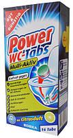 Таблетки для очистки унитаза Power WC-Tabs Multi-Aktiv-16 шт.