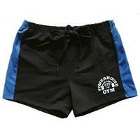Мужские шорты для бодибилдинга POWERHOUSE GYM, синие