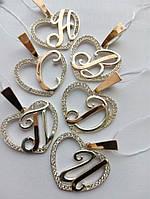 Кулоны буквы