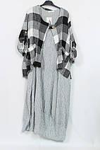 Женский костюм двойка  58-70р пр-во Турция Darkwin, фото 3