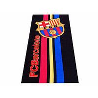 Махрово-велюровое пляжное полотенце Барселона-4, 75*150, Турция