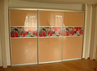 Фасады (для шкафов, гардеробных) купе комбинированные фотопечать ДСП, фото 2