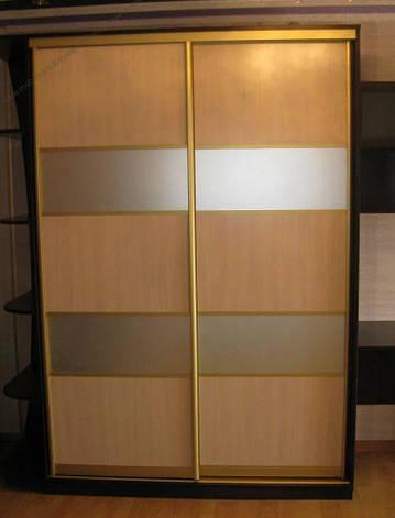 Фасады (для шкафов, гардеробных) купе комбинированные с ДСП, фото 2