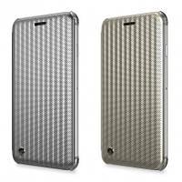 """Чехол-книжка STIL Jet Set Series для Apple iPhone 7 (4.7"""") (+ карман для визиток), Серебряный / Micro Silver (00000017491)"""