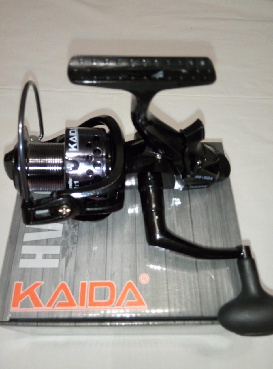 Катушка рыболовная с байтранером KAIDA HV 50 3 bb