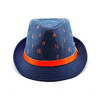 Челентанка шляпа детская 50-52 размер