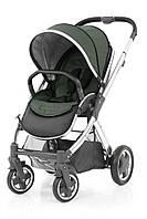Детская прогулочная коляска Oyster 2 Olive Green / Mirror Black ТМ BabyStyle