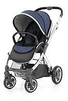 Детская прогулочная коляска Oyster 2 Oxford Blue / Mirror  Black ТМ BabyStyle