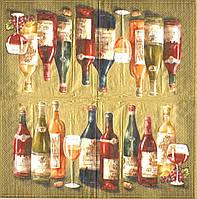 Салфетки декупажные Вино 2882