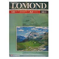 Фотобумага Lomond, глянцевая, односторонняя, 140 г/м2, A4, 50л (0102054)