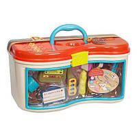 Игровой набор - ДОБРЫЙ ДОКТОР i-БОЛИТ для детей от 18 месяцев (12 аксессуаров, свет, звук) ТМ Battat BX1230Z