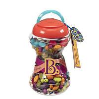 Набор для изготовления украшений - ПОП-АРТ для девочек от 4 лет (300 деталей, в банке) ТМ Battat BX1254Z