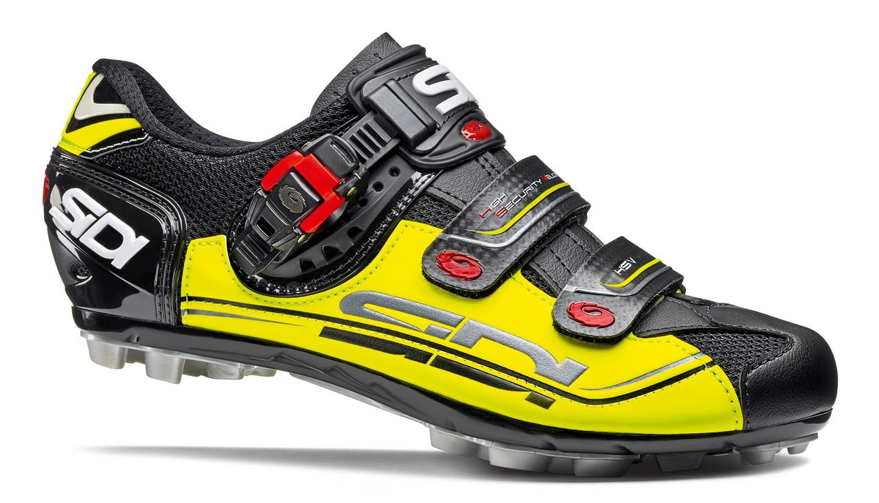 Велотуфли МТБ Sidi Eagle 7 SR Black Yellow Black