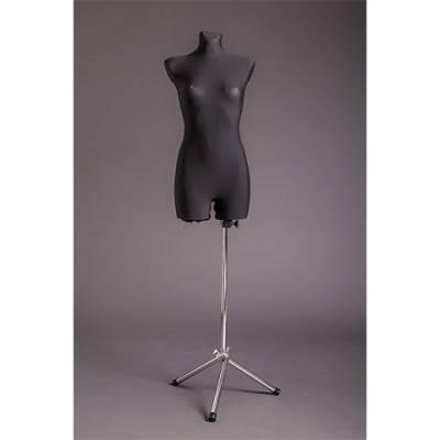 Манекен портновский женский на металлической подставке (удлиненный)