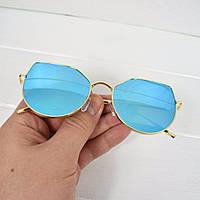 Очки женские от солнца Gentle Style голубые, магазин очков