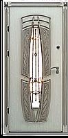 Входная дверь для коттеджа (три  контура) модель Виконт