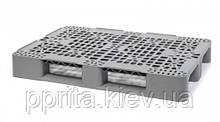 Пластиковый поддон на трех полозьях (усиленный) 1200х800