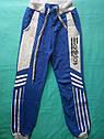 Детские спортивные штаны Адидас на мальчика 34 размер Хлопок, фото 2