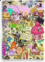 Блокнот Тетрадь  Adventure time, №2