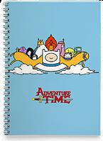 Блокнот Тетрадь  Adventure time, №4