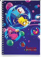 Блокнот Тетрадь  Adventure time, №3
