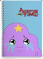 Блокнот Тетрадь  Adventure time, №5