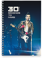 Блокнот Тетрадь 30 Seconds to Mars, №4