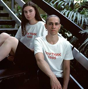 Футболка с принтом Спутник 1985 Мужская, фото 2