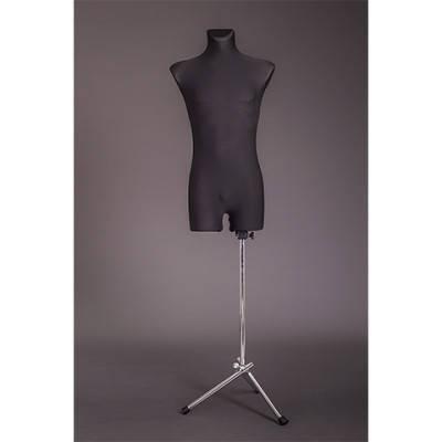 Манекен портновский мужской на металлической подставке (удлиненный)