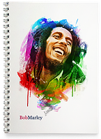 Блокнот Тетрадь Bob Marley, №1