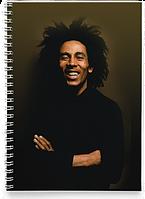 Блокнот Тетрадь Bob Marley, №2