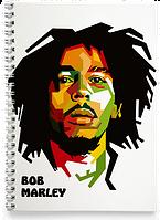 Блокнот Тетрадь Bob Marley, №5