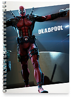 Блокнот Тетрадь Deadpool, №1