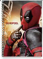 Блокнот Тетрадь Deadpool, №5