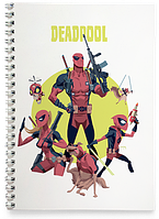 Блокнот Тетрадь Deadpool, №7