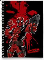 Блокнот Тетрадь Deadpool, №6