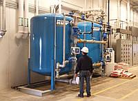 Обслуживание промышленных фильтров для воды
