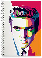 Блокнот Тетрадь Elvis Presley, №2
