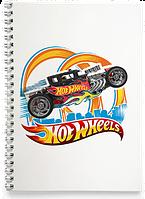 Блокнот Тетрадь Hot Wheels