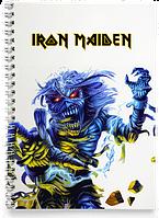 Блокнот Тетрадь Iron Maiden