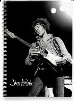 Блокнот Тетрадь Jimi Hendrix