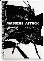 Блокнот Тетрадь Massive Attack