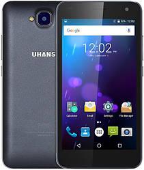 "Uhans H5000 gray 3/32 Gb, 5"", MT6737, 3G, 4G"