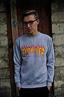 Свитшот с принтом Thrasher Magazine Мужская