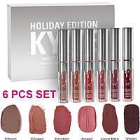 Набор матовых жидких помад от Кайли Дженнер Kylie Holiday Edition
