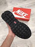 Беговые кроссовки Nike Free Run Plus 2 black. Живое фото. (Реплика ААА+), фото 5