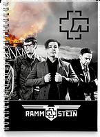 Блокнот Тетрадь Rammstein, №3