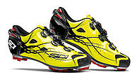 Велотуфли МТБ Sidi Tiger Carbon SRS Bright Yellow