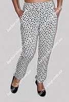 Нарядные летние брюки 0116 размер 42-50